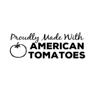 Made with American tomatoes