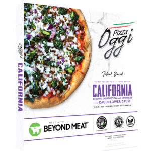 California vegan pizza
